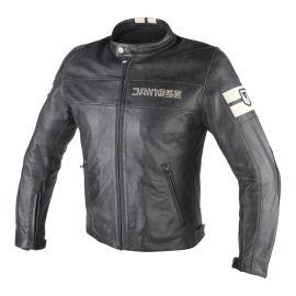 Dainese HF D1 kožená Black/Ice bunda pánska