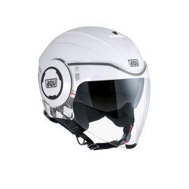 AGV Fluid Radius White / Silver