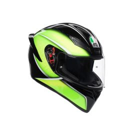 AGV K1 Multi Qualify Black/Lime