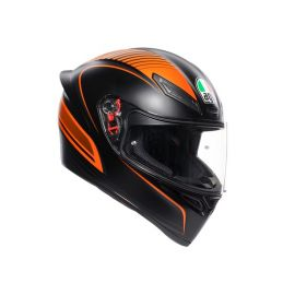 AGV K1 Multi Warmup Matt Blck/Org