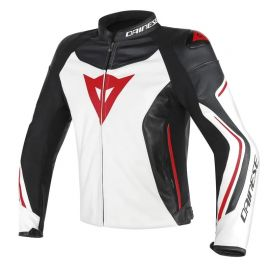 Dainese ASSEN White/Black/Red bunda pánska