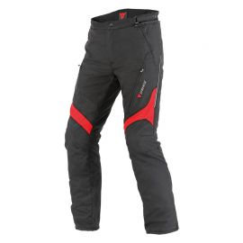 Nohavice Dainese TEMPEST  D-Dry Black/Red