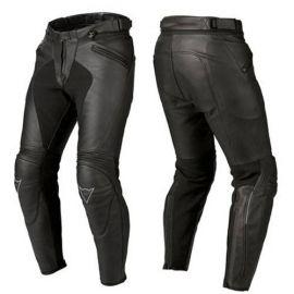 Dainese SPARTAN66 PELLE Black nohavice dámske kožené