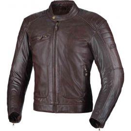 Büse CHESTER Brown bunda dámska kožená