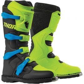 Topánky Thor Blitz XP neon zeleno modrá