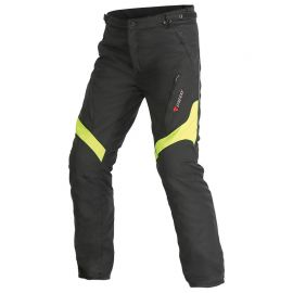 Dainese TEMPEST  D-Dry Black/Fluo Yellow nohavice pánske